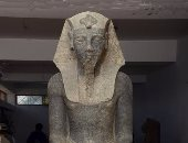 شاهد.. تمثال أمنحتب الثالث قبل نقله لحديقة متحف الأقصر