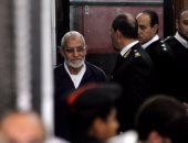 """محامى الإخوان يطعن على حكم المؤبد لـ""""بديع"""" فى غرفة عمليات رابعة"""