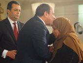 """بالفيديو.. سيدات يقاطعن الرئيس السيسي ويهتفن له خلال كلمته بـ""""حفل المرأة المصرية"""""""