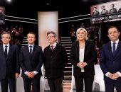 """فرنسا تنصت لــ""""حديث المناظرة"""".. """"الخمسة الكبار"""" فى سباق الانتخابات الرئاسية يعرضون برامجهم.. """"فيون"""" يتعهد بمحاربة الإخوان والسلفيين بلا هوادة.. و""""لوبان"""" تهدد بوقف الهجرة وتجدد تعهدها بالخروج من الاتحاد الأوروبى"""