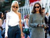 بالصور.. خبراء الموضة يؤكدون One Shoulder من أهم اتجاهات أزياء 2017