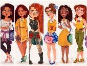بالصور.. ماذا لو تحولت أميرات ديزنى إلى مراهقات بأزياء حديثة ؟