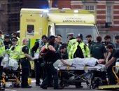 """شاهد.. """"رعب وذعر"""" بعد لحظات من الهجوم الإرهابى بمحيط البرلمان البريطانى"""