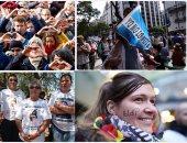 أهم 10 صور تلخص الأحداث العالمية ليوم الأربعاء