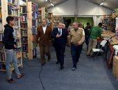 بالصور ..محافظ الاسكندرية يتابع تجهيزات معرض الكتاب