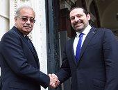 اجتماعات اللجنة المصرية اللبنانية برئاسة  شريف إسماعيل وسعد الحريرى