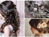 للعروسة ..  بالصور أفكار لاكسسوارات شعرك فى الخطوبة والزفاف