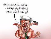 كاريكاتير.. أردوغان على خطا البلتاجى: ما يحدث بأوروبا يتوقف بقبولنا فى الاتحاد