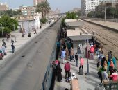 توقف حركة قطارات الصعيد بسبب تعطل قطار فى طهطا بسوهاج