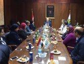 بالصور.. تكريم الأمهات المثاليات بالشركة المصرية لخدمات الطيران