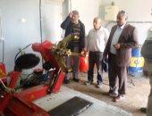 رئيس ضواحى بورسعيد : إزالة اشغالات بنك الإسكان وافتتاح جراج الحى بعد رفع كفاءته