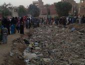 أهالى زواية أبو مسلم بالجيزة يطالبون بتغطية رشاح أبوعوض بعد تحوله لبؤرة تلوث