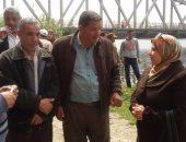 حملة إزالة التعديات على نهر النيل فى مطوبس مستمرة حتى الأسبوع المقبل