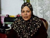 بالصور.. الأم المثالية ببورسعيد:ابنى مهندس مصاب بضمور العضلات وطالبت الرئيس بتعيينه