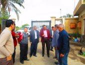 سكرتير محافظة كفر الشيخ يتفقد استعدادات استقبال القمح بالصوامع والشون