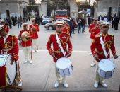عروض للموسيقى العسكرية بافتتاح ملتقى الفنون لذوى القدرات الخاصة
