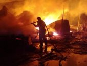بالفيديو.. مقتل شخص فى احتراق مصنع للبارود فى مدينة قازان الروسية