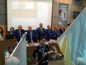 محافظ الإسكندرية ورئيس الجامعة يشهدان حفل تخريج طلاب كلية الطب