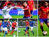 أسبانيا تدك إسرائيل بالأربعة وإيطاليا تكتفى بهدفين فى ألبانيا بتصفيات كأس العالم