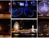 بالصور.. العالم يحتفل بساعة الأرض بإطفاء الأنوار لمدة ساعة
