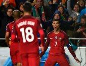 تصفيات المونديال.. رونالدو يضيف الهدف الثالث للبرتغال فى شباك المجر