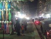 قارئ يطالب بإزالة إشغالات المحلات التجارية بشارع أحمد عرابى فى عين شمس