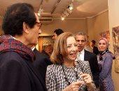 """شاهد..الفنانة نازلى مدكور تتحدث عن معرضها """"حدائق خاصة"""""""
