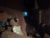 انهيار جزئى لمنزل دون حدوث خسائر فى الأرواح بمدينة بنى سويف