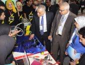 بالصور .. جامعة المنصورة: 110 ابتكار بفعاليات ملتقى الاختراعات لطلاب الجامعة