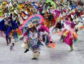 مهرجان الرقص لسكان أمريكا الأصليين بولاية كولورادو الأمريكية