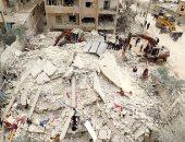 الصليب الأحمر: قافلة مساعدات تدخل بلدة دوما السورية المحاصرة