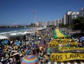 المعارضة البرازيلية تحشد قوتها اليوم للمطالبة باستقالة الرئيس بسبب الفساد