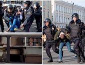 الشرطة الروسية تعتقل أكثر من 700 متظاهر فى موسكو