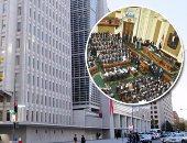 """قرض صندوق النقد يجتاز """"الاختبار الثانى"""".. """"اقتصادية البرلمان"""" توافق على اتفاقية القرض.. وزير المالية: يسرع من تنفيذ برنامج """"الإصلاح الاقتصادى"""" وشهادة على """"جدية الدولة""""..  ويؤكد: لا أحد يجبر مصر على شئ"""