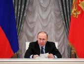 """بوتين يقلد نظيره التركمانى وسام """"الكسندر نيفسكى"""""""