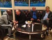 بالصور.. أبو ريدة ومجاهد وعامر حسين يرحبون بمنتخب توجو فى فندق الإقامة