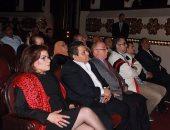 """وزير الثقافة وخالد جلال يشاهدان """"المحاكمة"""" فى احتفال اليوم العالمى للمسرح"""