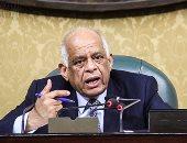 """وفد برلمانى برئاسة """"عبدالعال"""" يغادر إلى بنجلاديش لحضور أعمال البرلمان الدولى"""