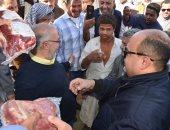 بالفيديو.. محافظ مطروح: توزيع 15 طن مواد غذائية ولحوم على أهالى سيوة