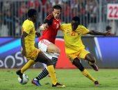 مصر وتوجو تتعادلان سلبيًا بعد 30 دقيقة.. وهدف ملغى لرمضان صبحى