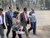 نائب وزير الزراعة يفاجئ مزرعة الزهراء للخيول بزيارة تفقدية