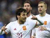 """بالفيديو.. إسبانيا تهزم فرنسا بثنائية وديا فى مباراة """"تقنية الفيديو"""""""