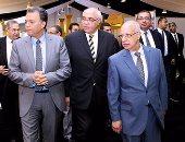 بالصور.. وزيرا التعليم العالى والنقل يشاركان فى الملتقى التوظيفى لجامعة المستقبل