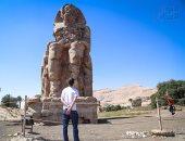 """معرض """"معبد ملايين السنين لأمنحتب الثالث فى طيبة"""" فى متحف الآثار بالإسكندرية"""