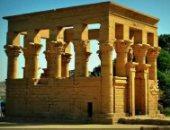 """""""الآثار"""" تنفى نشوب حريق بأحد ملحقات معبد فيلة بأسوان"""
