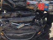 بالأسماء.. إصابة 9 أشخاص فى حادث تصادم بكفر الشيخ