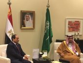الرئيس السيسى يهنئ الملك سلمان بمناسبة عيد الفطر