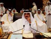 """أمير قطر: علاقتنا قوية بإسرائيل و""""حماس"""" الممثل الشرعى للفلسطينيين"""