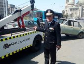 مرور القاهرة يشن حملات مكبرة لرفع السيارات المتروكة بالميادين