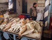 أسعار السمك اليوم السبت 23-2-2019 بسوق العبور